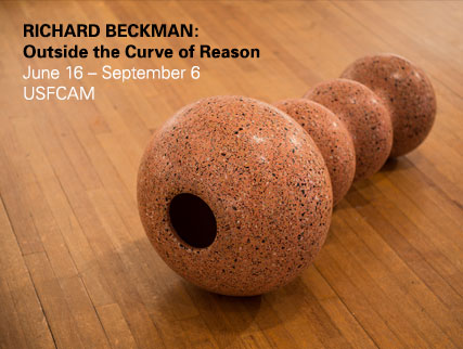 This exhibition is a selection of sculptures by Richard Beckman (1972-2004) from collections located within the Tampa Bay region. | Lee and Victor Leavengood Gallery | USF Contemporary Art Museum