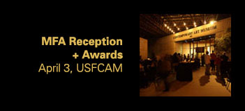 MFA Reception and Student Show Awards