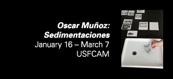 Oscar Muñoz: SedimentacionesJanuary 16 – March 7, 2015 at USFCAM